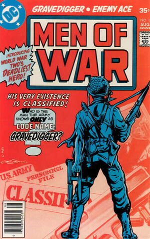 Cover for Men of War #1