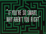 If You&#39;re So Smart-Title Card