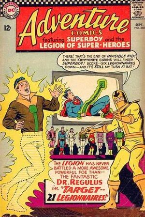 Cover for Adventure Comics #348 (1966)