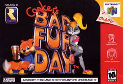 Conker&#39;s Bad Fur Day Cover
