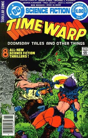 Cover for Time Warp #1