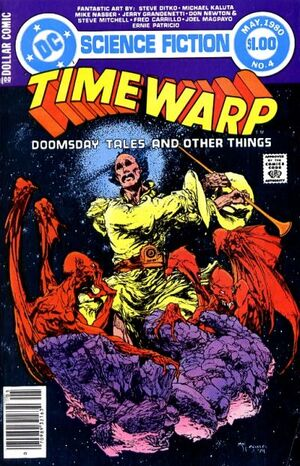 Cover for Time Warp #4