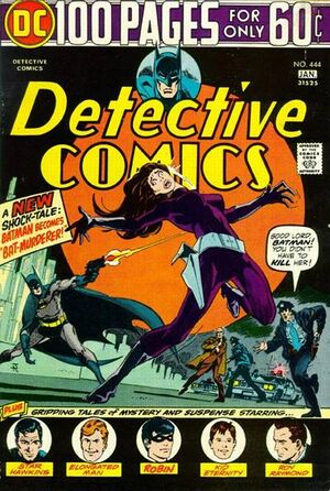 Cover for Detective Comics #444