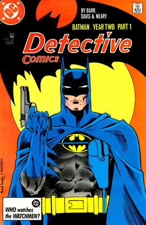 Cover for Detective Comics #575