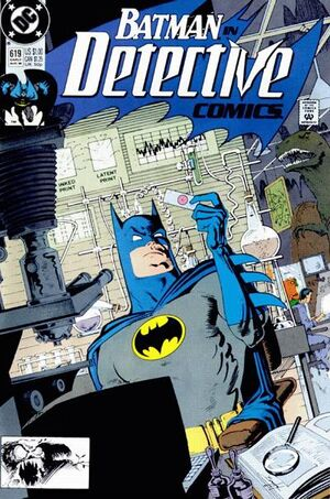 Cover for Detective Comics #619