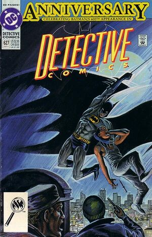 Cover for Detective Comics #627