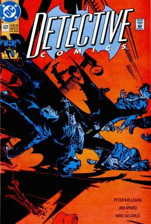 Cover for Detective Comics #631