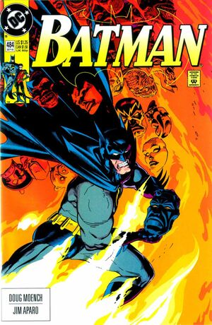 Cover for Batman #484