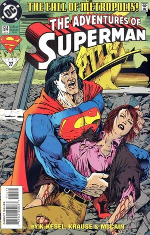 Cover for Adventures of Superman #514