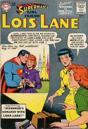 Cover for Superman's Girlfriend, Lois Lane #41