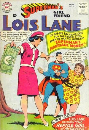 Cover for Superman's Girlfriend, Lois Lane #61