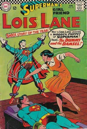 Cover for Superman's Girlfriend, Lois Lane #73