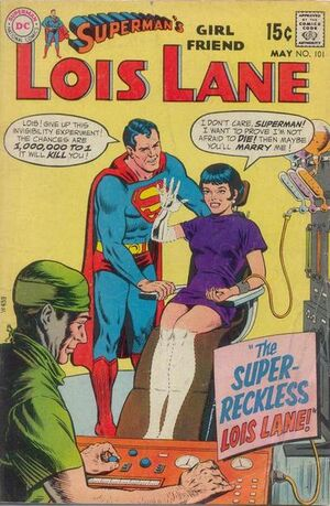 Cover for Superman's Girlfriend, Lois Lane #101