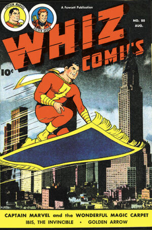 Cover for Whiz Comics #88