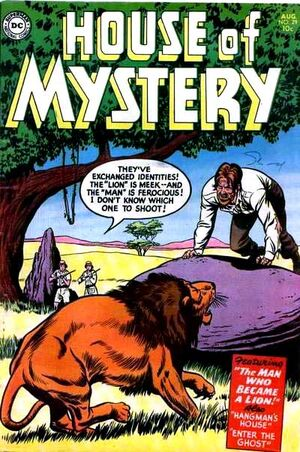 Cover for House of Mystery #29