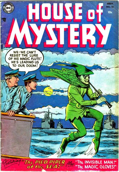 Cover for House of Mystery #32