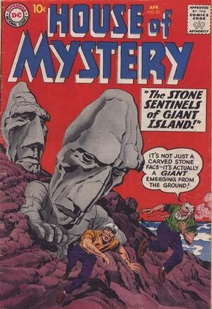 Cover for House of Mystery #85