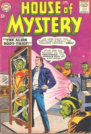 Cover for House of Mystery #135