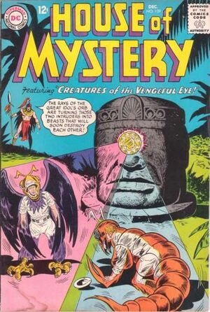 Cover for House of Mystery #139