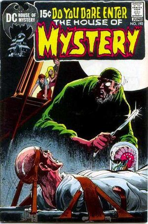 Cover for House of Mystery #192