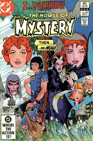 Cover for House of Mystery #309