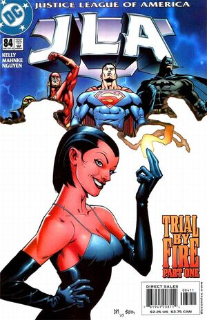Cover for JLA #84