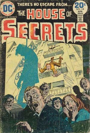 Cover for House of Secrets #118