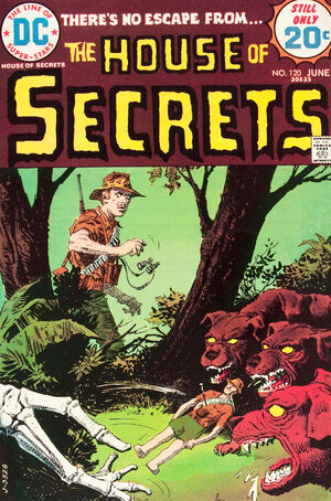 Cover for House of Secrets #120