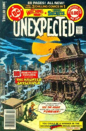 Cover for Unexpected #189