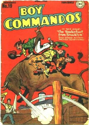 Cover for Boy Commandos #19
