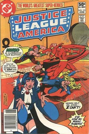 Cover for Justice League of America #191
