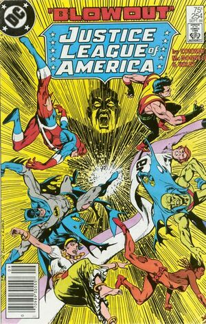 Cover for Justice League of America #254