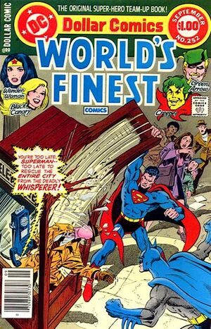 Cover for World's Finest #252