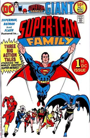 Cover for Super-Team Family #1