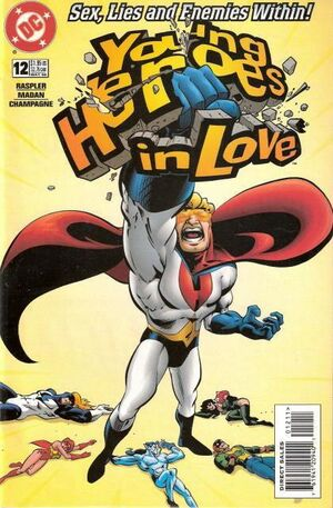 Cover for Young Heroes in Love #12