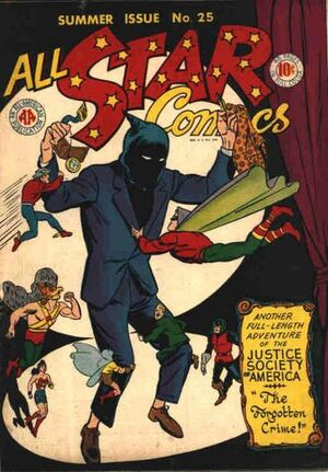 Cover for All-Star Comics #25