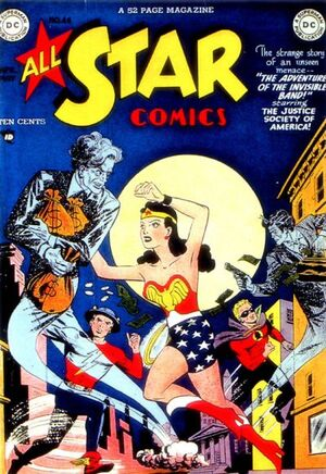 Cover for All-Star Comics #46
