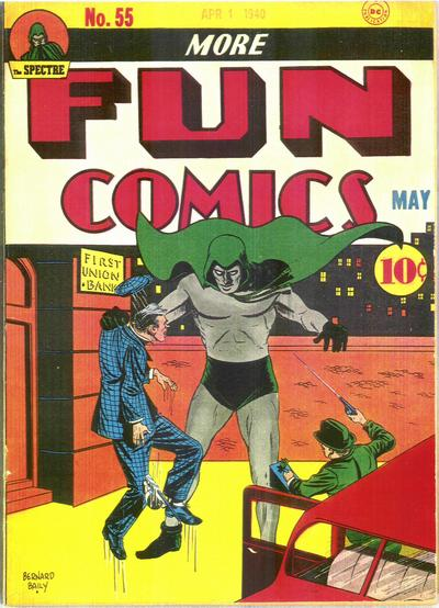 Cover for More Fun Comics #55