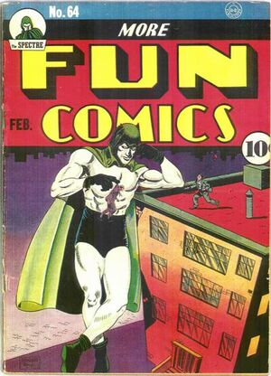 Cover for More Fun Comics #64