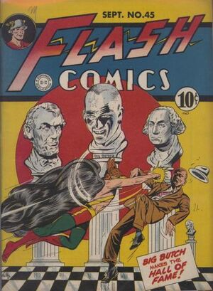 Cover for Flash Comics #45