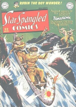 Cover for Star-Spangled Comics #96