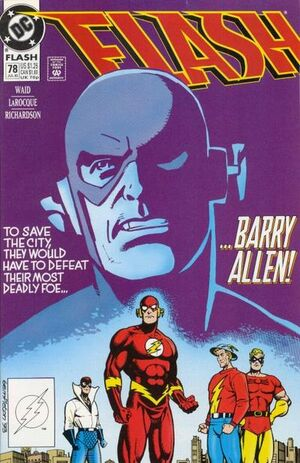 Cover for Flash #78 (1993)