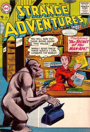 Cover for Strange Adventures #75