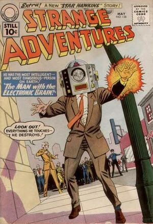 Cover for Strange Adventures #128