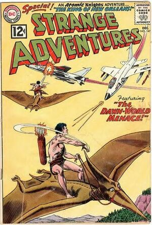 Cover for Strange Adventures #147