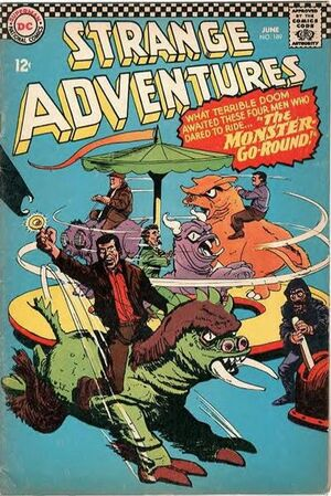 Cover for Strange Adventures #189