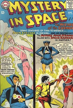Cover for Mystery in Space #98