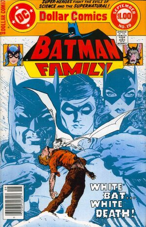 Cover for Batman Family #19