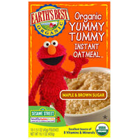 Maple &amp; Brown Sugar Organic Yummy Tummy Instant Oatmeal