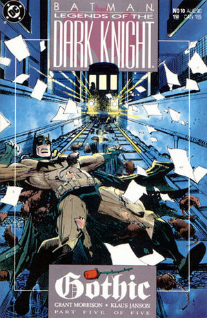 Cubierta para Batman: Legends of the Dark Knight # 10 (1990)